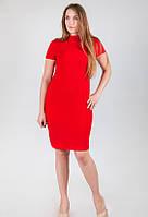 Платье-резинка 18031 Goldi XL Красный