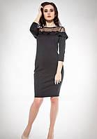Платье 30976 Goldi S Черный, фото 1
