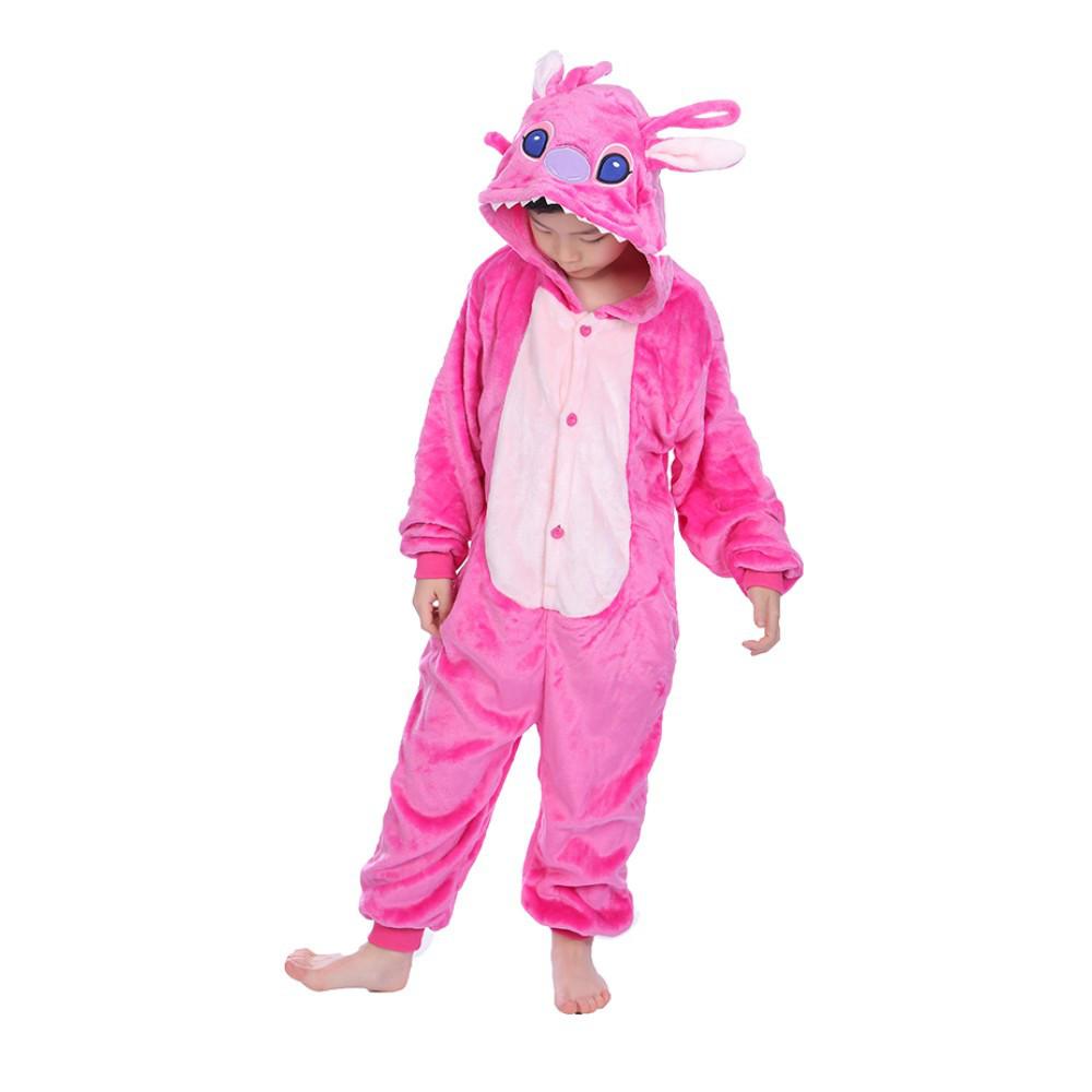 Кигуруми детский Стич розовый 130 6ad045a39cabb