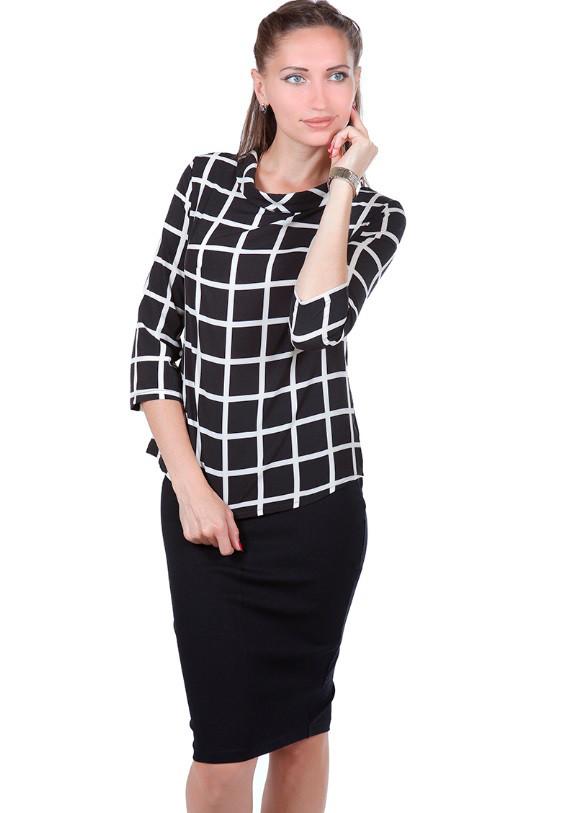 Блуза Goldi 8072 S Черный