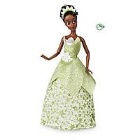 Кукла Тиана с кольцом классическая Принцесса Дисней (Tiana Classic Doll with Prince Naveen as Frog Figure ), фото 1