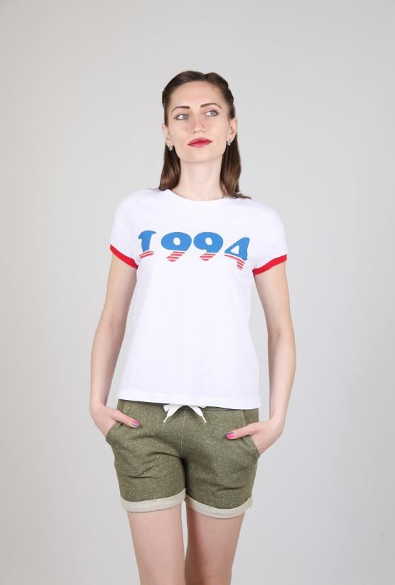 Футболка 12048 Goldi M Белый