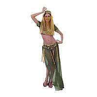 Карнавальный костюм Восточный зеленый, фото 1