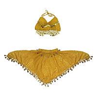 Карнавальный костюм Восточный желтый, фото 1