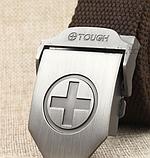 Тактический пояс «Tough Plus» светло-серый 110-130 см, фото 3