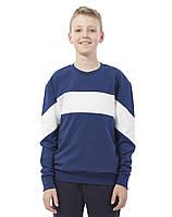 Свитшот с полосой на груди 3120-01 Promin L Синий, фото 1