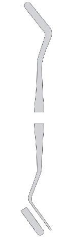 Гладилка для реставраций №2 с анатомической ручкой (Пакистан) NaviStom