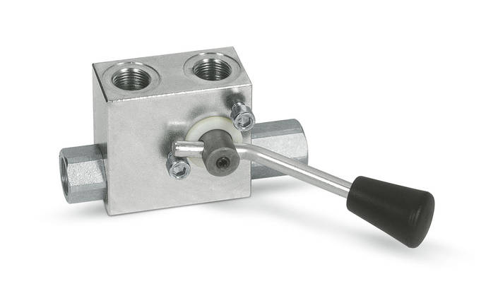 """Гидрозамок двусторонний с ручным выключением 30 л/мин, G 3/8"""" , фото 2"""