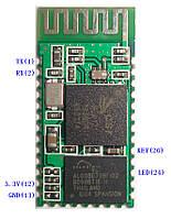 Bluetooth передатчик в Serial(COM-PORT) модуль PCB RS232 TLL RX TX GND KEY LED 3.3v