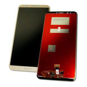 Дисплей Huawei Y7 (2018), Honor 7C, Enjoy 8 с тачскрином золотистый Оригинал