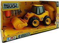 Игровой набор Can Xin Long конструктор Дорожный каток CXL200-18D T22145844