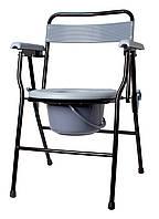 Крісло-стілець з санітарним оснащенням Рідні Care, нерегульоване за висотою, складане