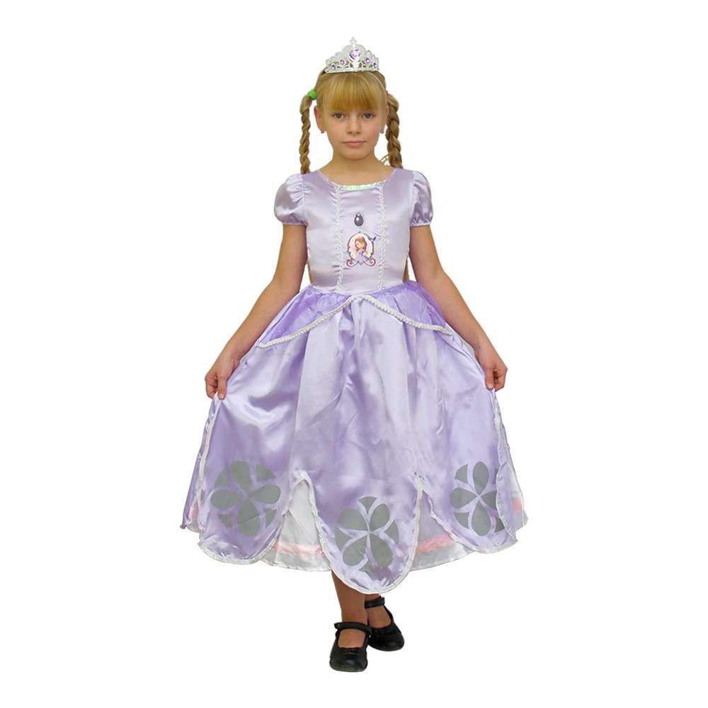 Маскарадный костюм София Прекрасная размер 4 6 лет