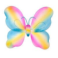 Крылья Бабочки радужные 42х44 см, фото 1