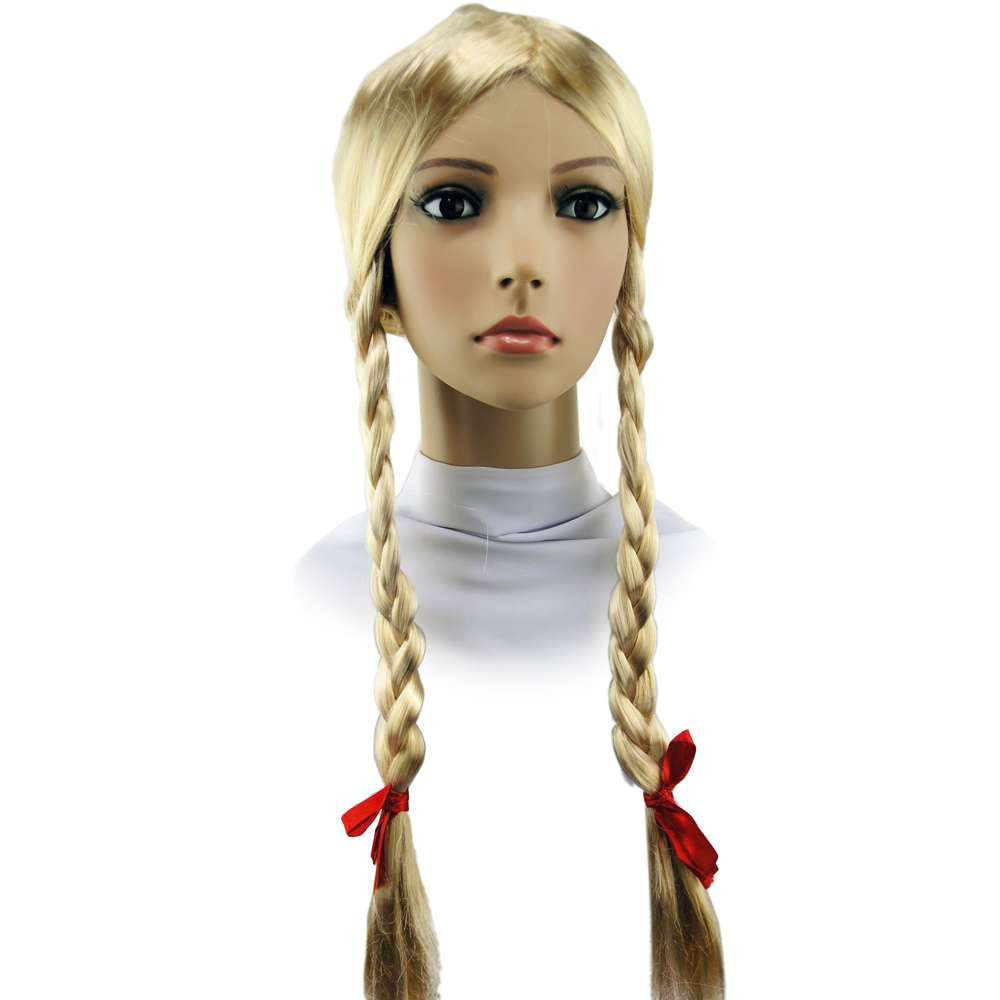 Парик Две косы блонд