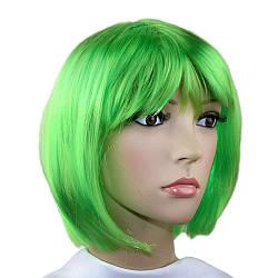 Парик Каре зеленый