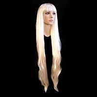 Парик прямой 90 см блонд