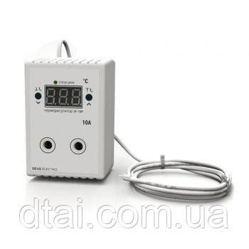 Терморегулятор с датчиком температуры до 2 кВт (10А)
