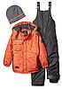 Зимний  комбинезон iXtreme (США) раздельный с шапкой для мальчика 2 года