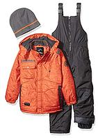Зимний  комбинезон iXtreme (США) раздельный с шапкой для мальчика 2 года, фото 1