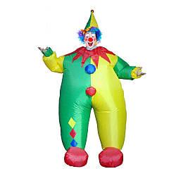 Надувной костюм Клоун