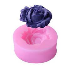 """Молд кондитерский """"Роза"""" - диаметр молда 3,5см, силикон"""