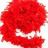 Боа из перьев 60г красное