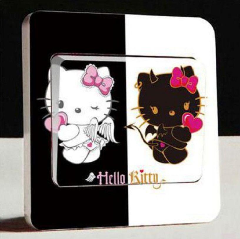 "Наклейка на выключатель ""Hello Kitty"""