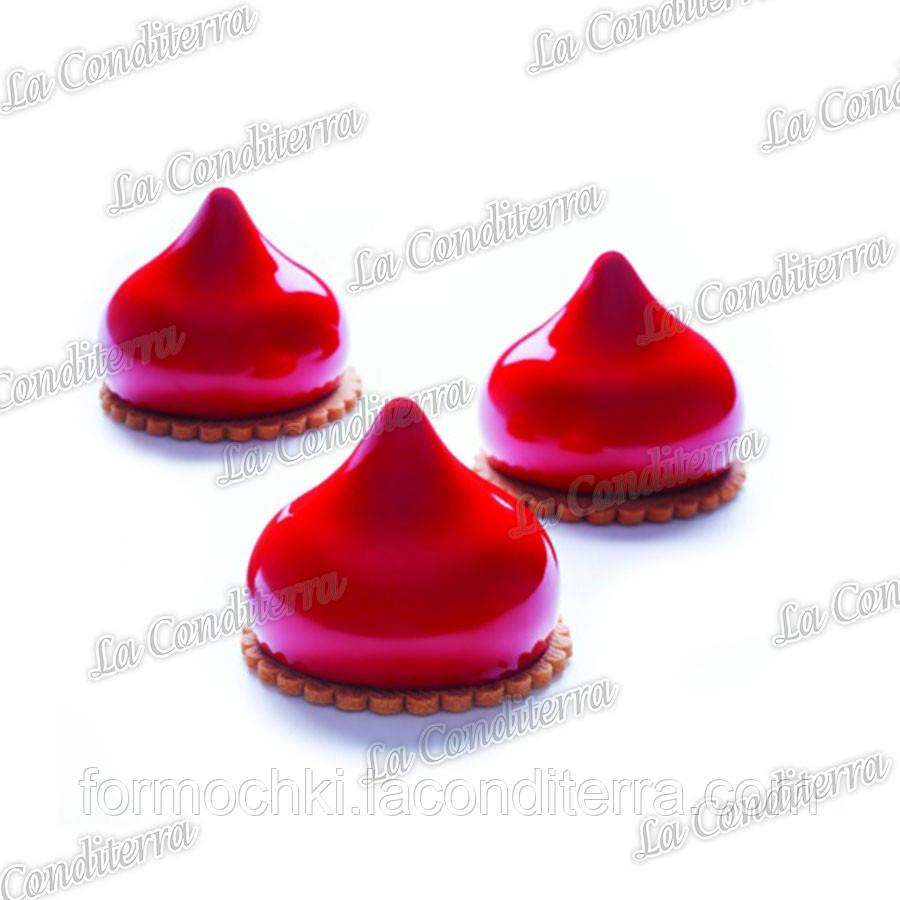 Силіконова форма для десертів PAVONI Jasmine PX4355