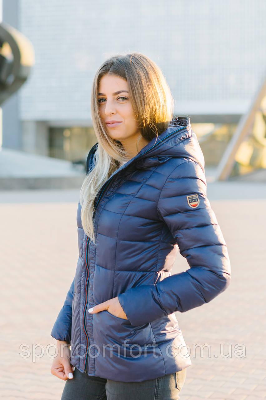 Женская куртка темно-синяя FREEVER 1718