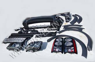 Комплект рестайлинга Land Rover Discovery 3 в Discovery 4 2013+