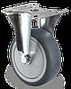 Аппаратные колеса 75мм неповоротные, шариковый подшипник