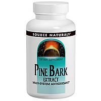 Екстракт соснової кори Пікногенол, Source Naturals, 60 таблеток