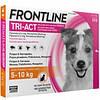 Frontline Tri-Act (Фронтлайн Три-Акт) капли для собак от 5 до 10 кг