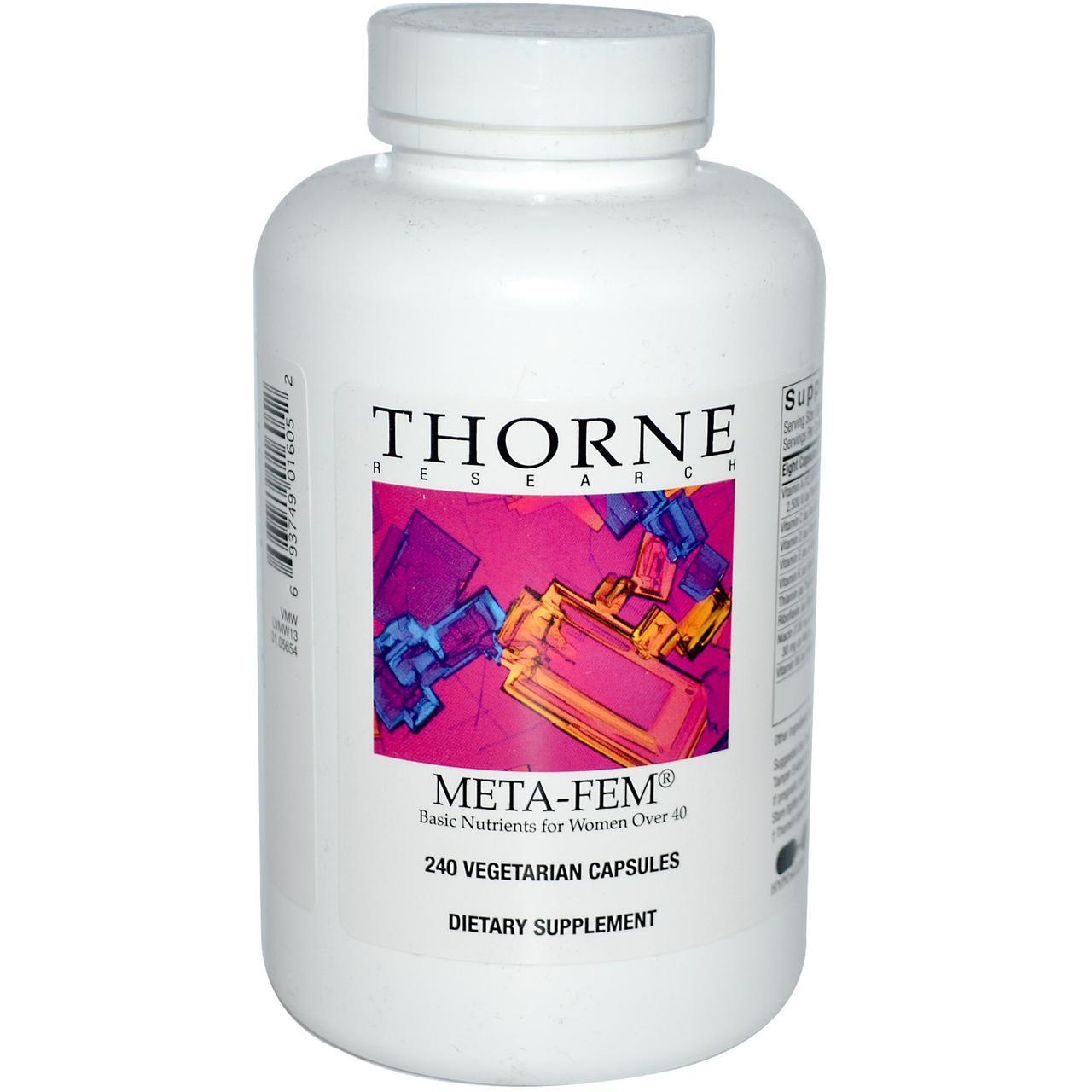 Витамины для женщин 40+, Thorne Research, 240 кап.
