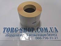 Этикетка полуглянцевая Vellum 58х30 (1000 шт. в рулоне) втулка 41 мм, фото 1