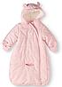 Комбинезон-конверт Carter's (США) розовый для девочки 0-3мес, 3-6мес, 6-9мес, 9-12мес