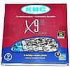 Цепь KMC (кмс) X9.99 с замком, 116 звеньев, 9 звезд, фото 3