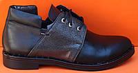 Туфли женские на низком ходу кожаные, туфли кожаные от производителя модель НТ20-1, фото 1
