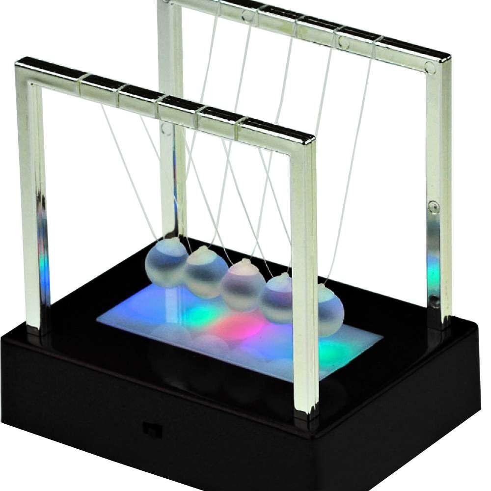 Шары Ньютона квадрат средний светящийся