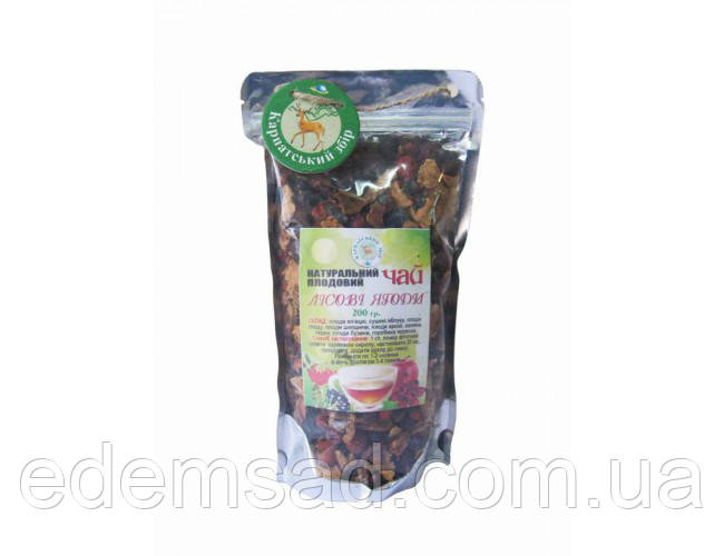 """Натуральний чай """"Лісові ягоди"""", 200г"""