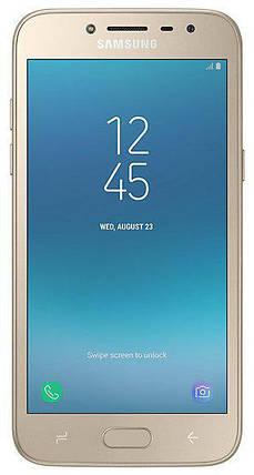 Смартфон Samsung Galaxy J2 (2018) Gold SM-J250FZDDSEK Оригинал Гарантия 12 месяцев, фото 2