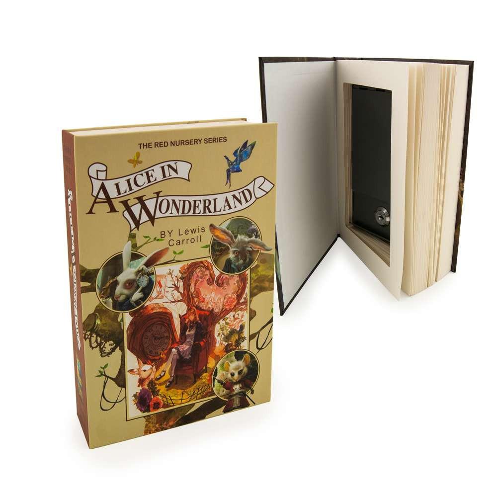 Книга сейф со страницами Л.Кэрролл