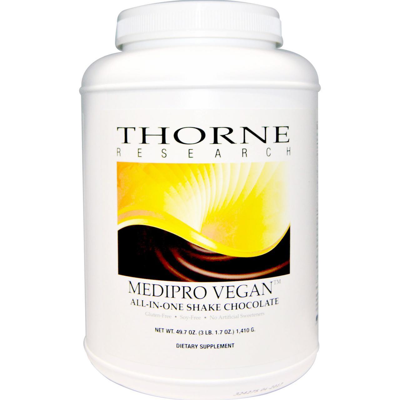 СМульти-комплекс белка (вкус шоколада), Thorne Research, 1,410 г.