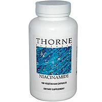 Ниацинамид (В3), Thorne Research, 180 капсул