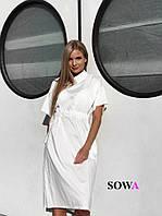 Платье  женское свободного силуэта    Виола, фото 1