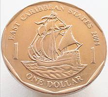 Восточные Карибы 1 доллар 2004