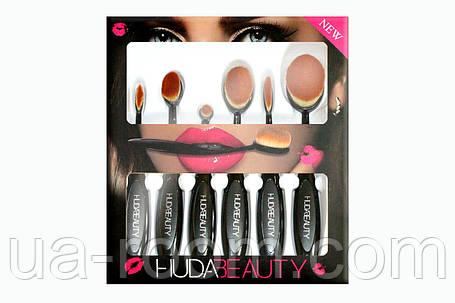 Набор кистей-щеток Huda Beauty (6 штук), фото 2