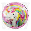 Фольгированный шар Единорог розовый, 45*45 см