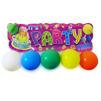 Баннер Party Time